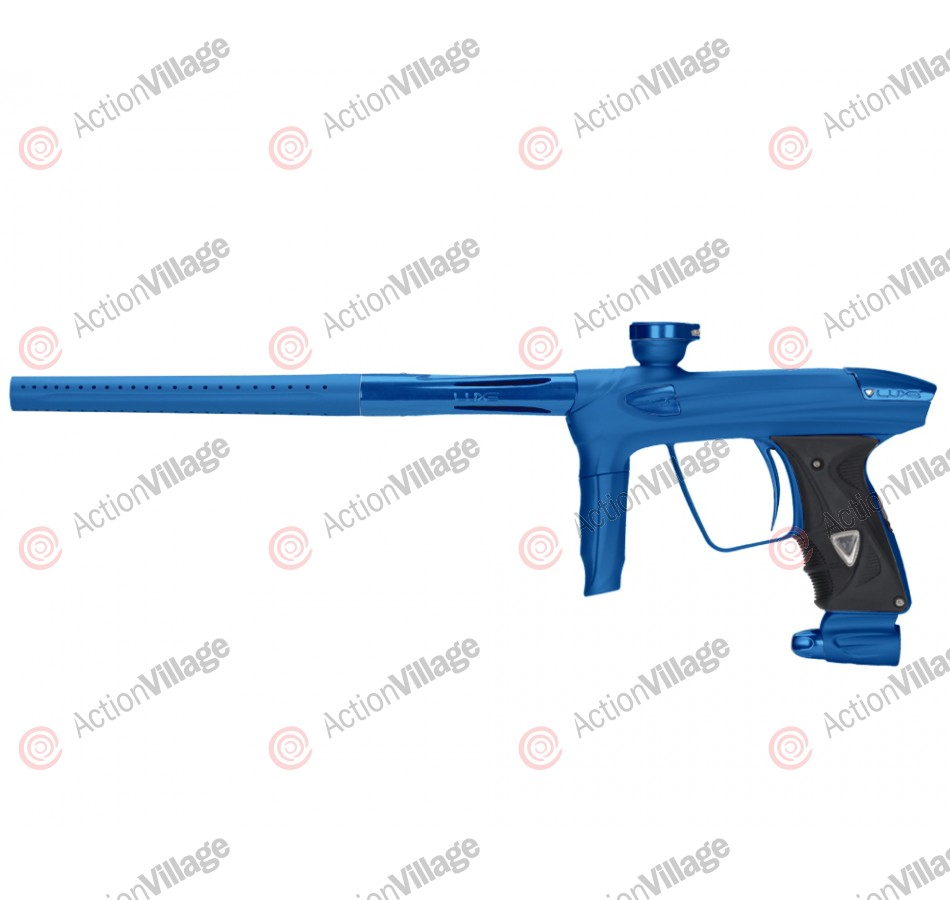 DLX Luxe 2.0 Paintball Gun - Dust Blue/Blue
