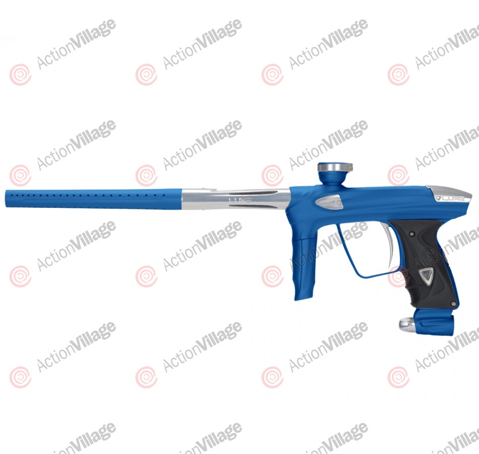 DLX Luxe 2.0 Paintball Gun - Dust Blue/Clear