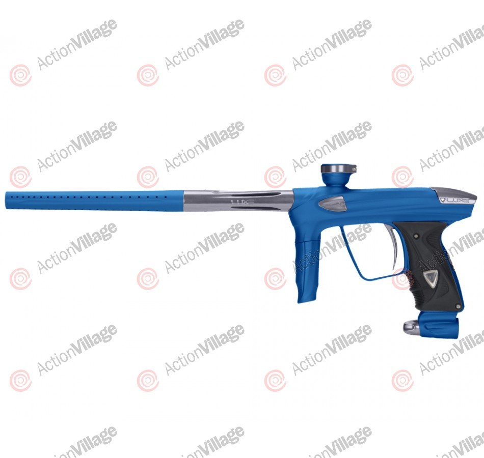 DLX Luxe 2.0 Paintball Gun - Dust Blue/Pewter
