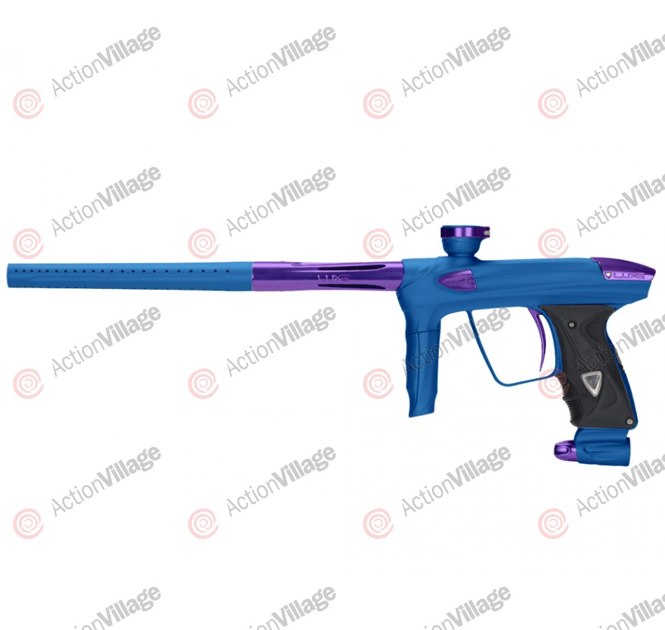 DLX Luxe 2.0 Paintball Gun - Dust Blue/Purple