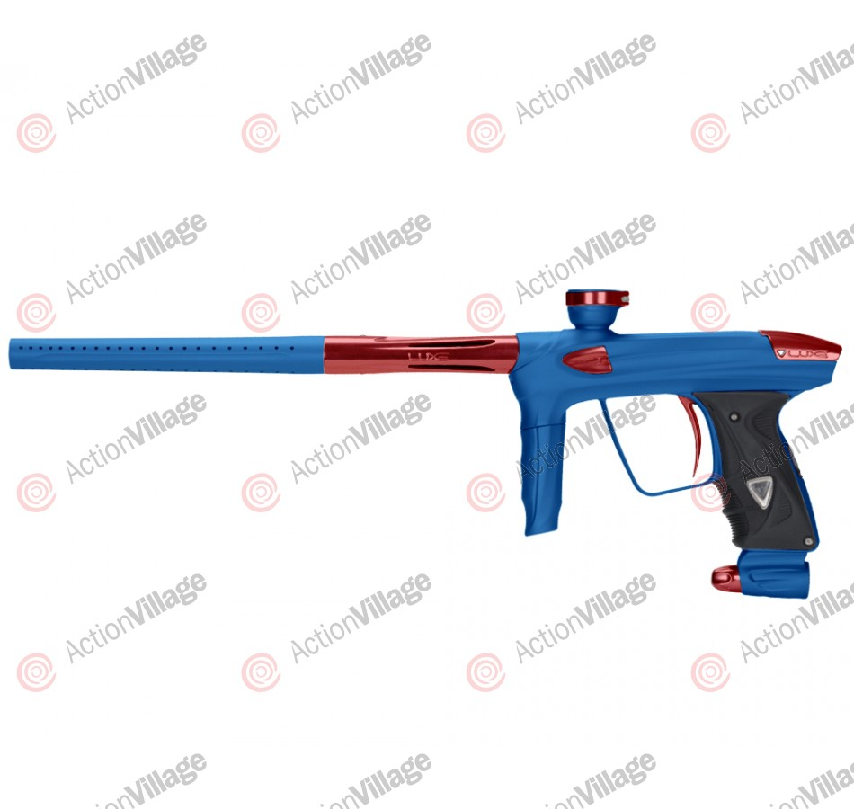 DLX Luxe 2.0 Paintball Gun - Dust Blue/Red
