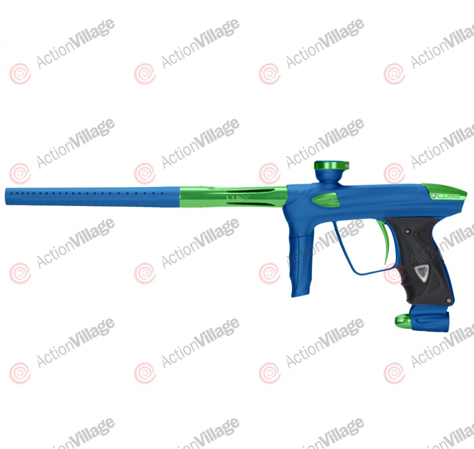 DLX Luxe 2.0 Paintball Gun - Dust Blue/Slime Green