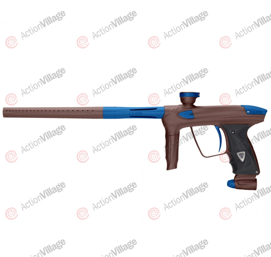 DLX Luxe 2.0 Paintball Gun - Brown/Dust Blue
