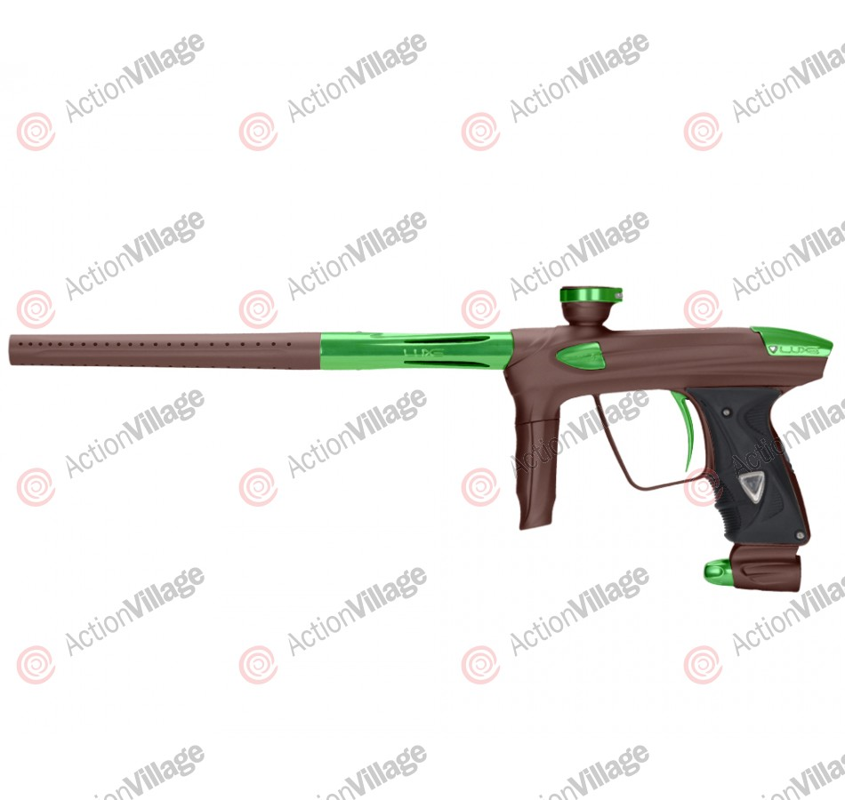 DLX Luxe 2.0 Paintball Gun - Dust Brown/Slime Green