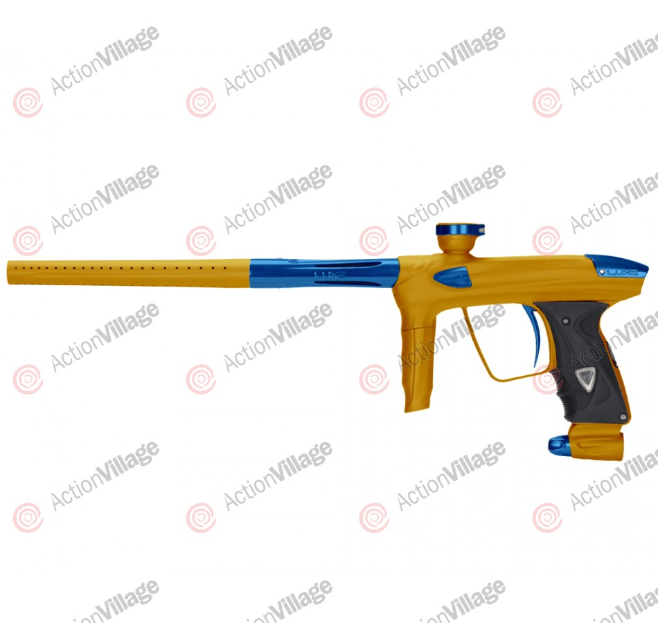 DLX Luxe 2.0 Paintball Gun - Dust Gold/Blue