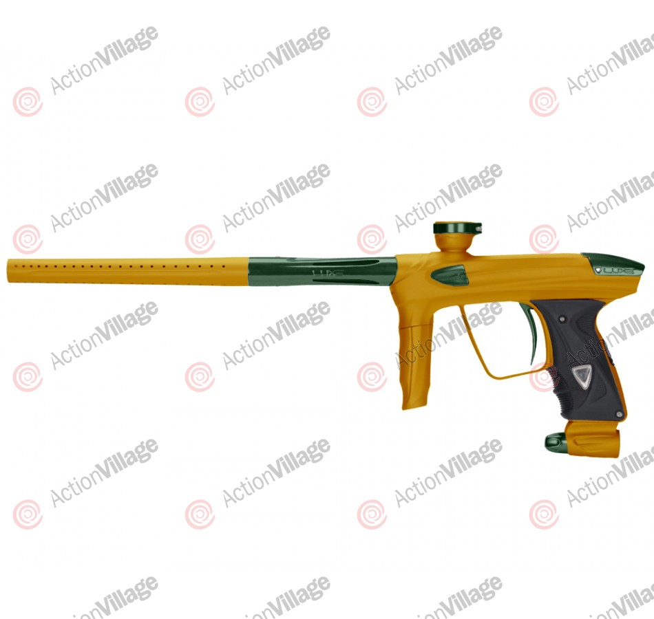 DLX Luxe 2.0 Paintball Gun - Dust Gold/British Racing Green