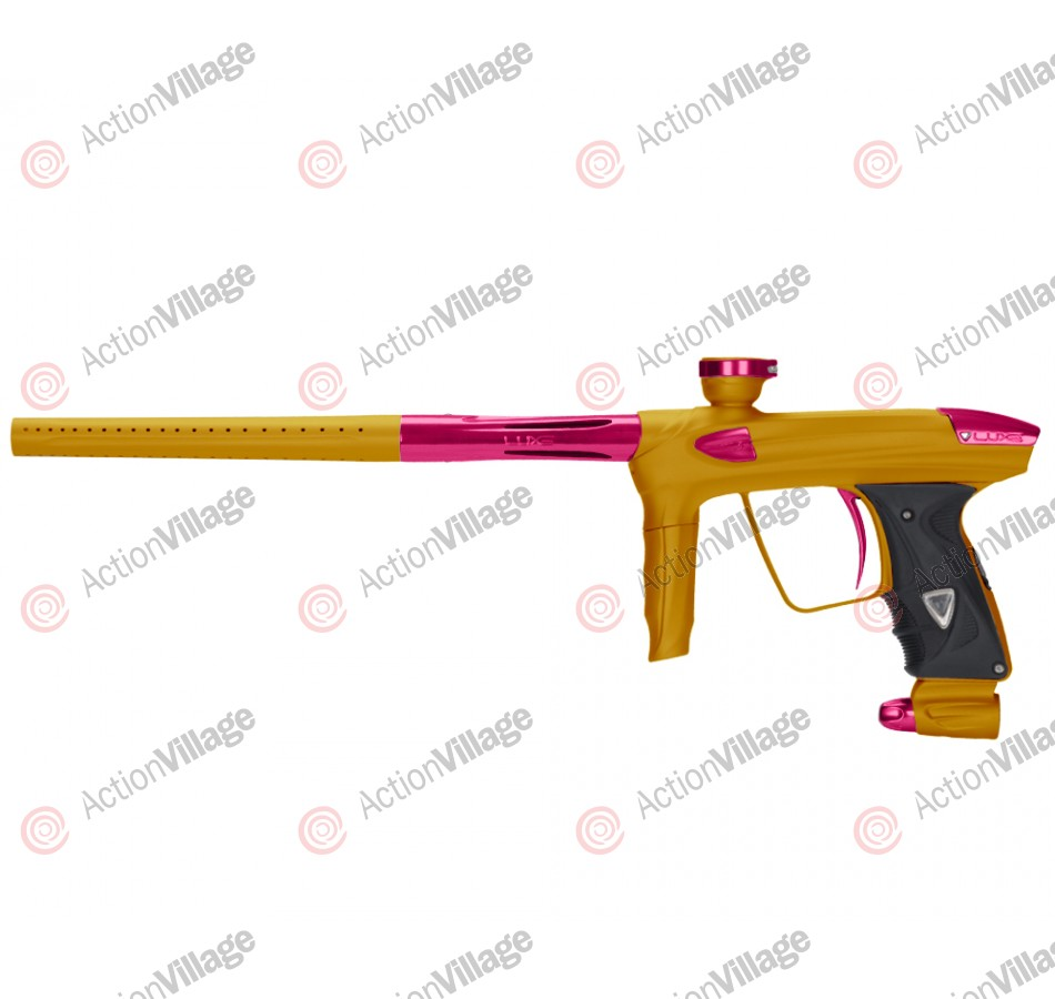DLX Luxe 2.0 Paintball Gun - Dust Gold/Pink