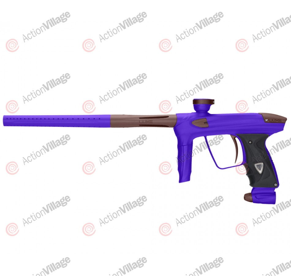 DLX Luxe 2.0 Paintball Gun - Dust Purple/Dust Brown
