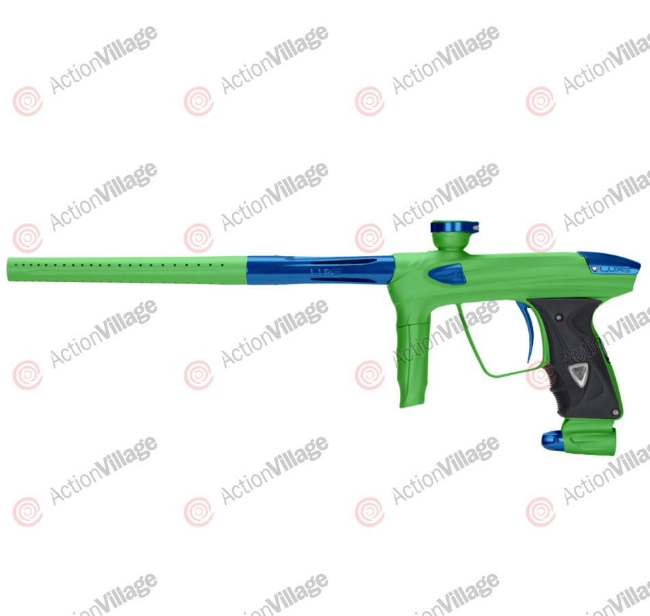 DLX Luxe 2.0 Paintball Gun - Dust Slime Green/Blue
