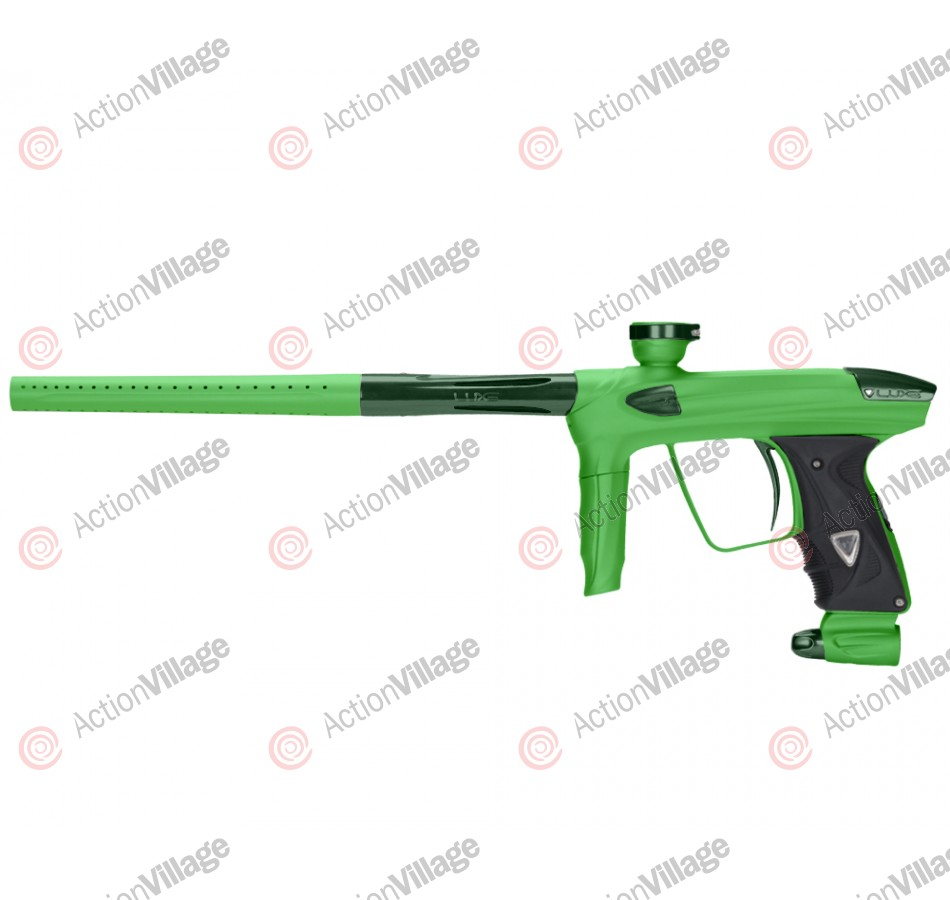 DLX Luxe 2.0 Paintball Gun - Dust Slime Green/British Racing Green