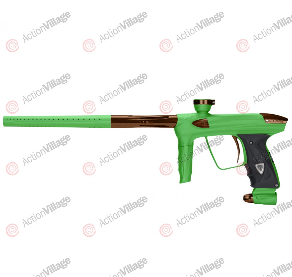 DLX Luxe 2.0 Paintball Gun - Dust Slime Green/Brown