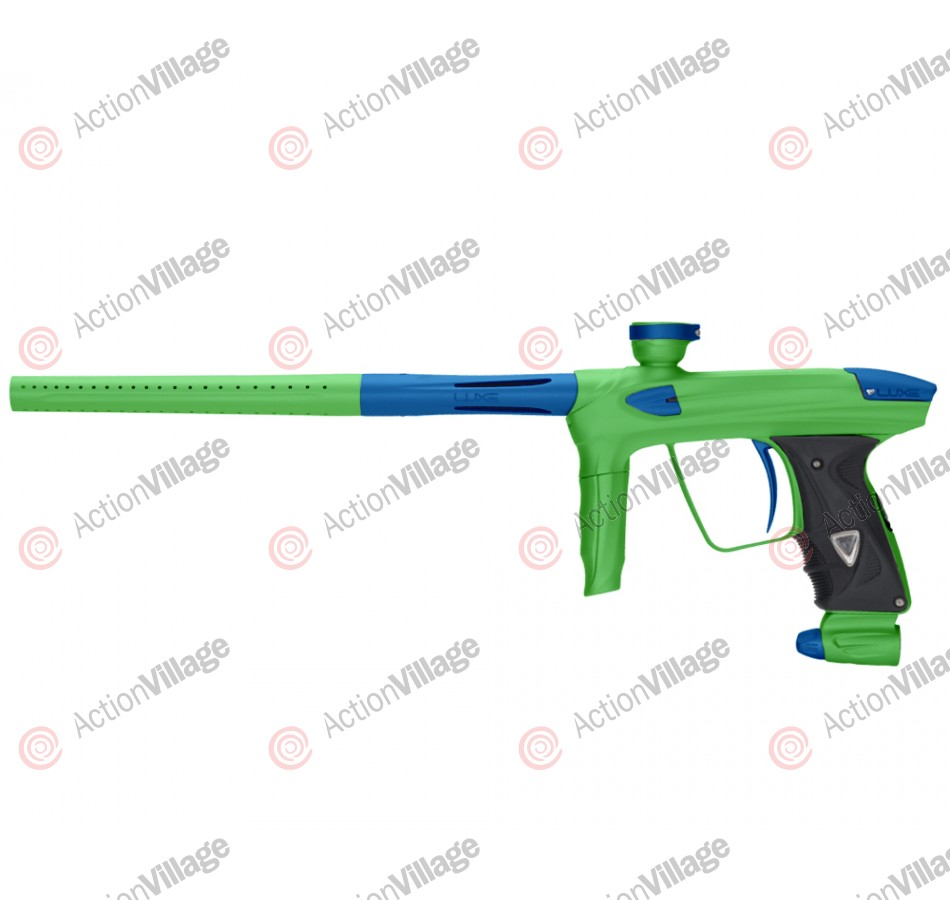 DLX Luxe 2.0 Paintball Gun - Dust Slime Green/Dust Blue
