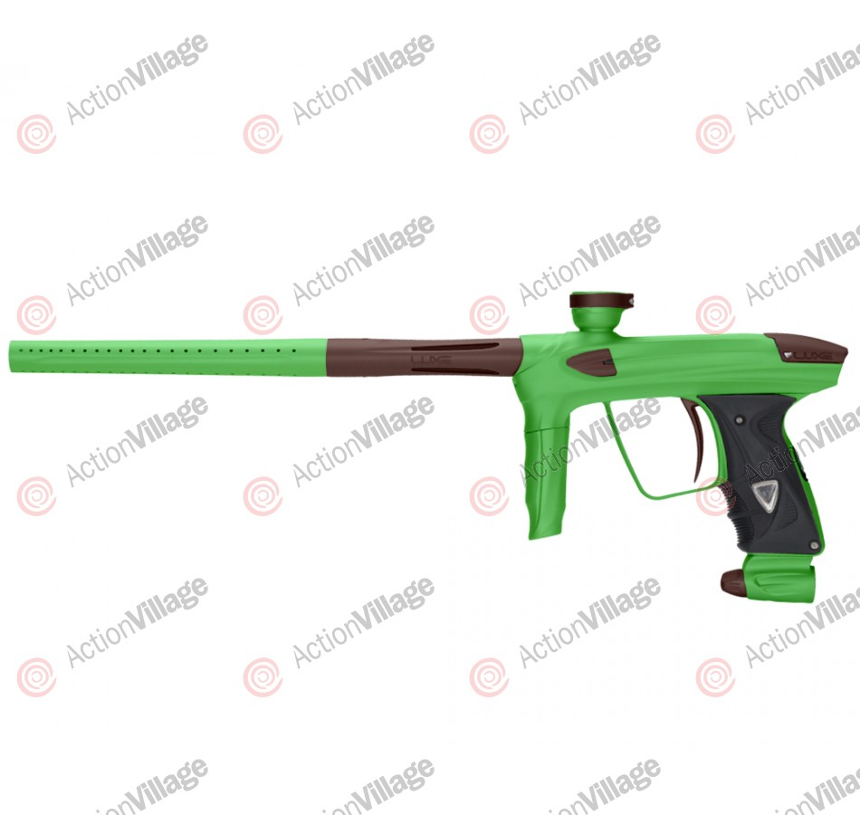 DLX Luxe 2.0 Paintball Gun - Dust Slime Green/Dust Brown
