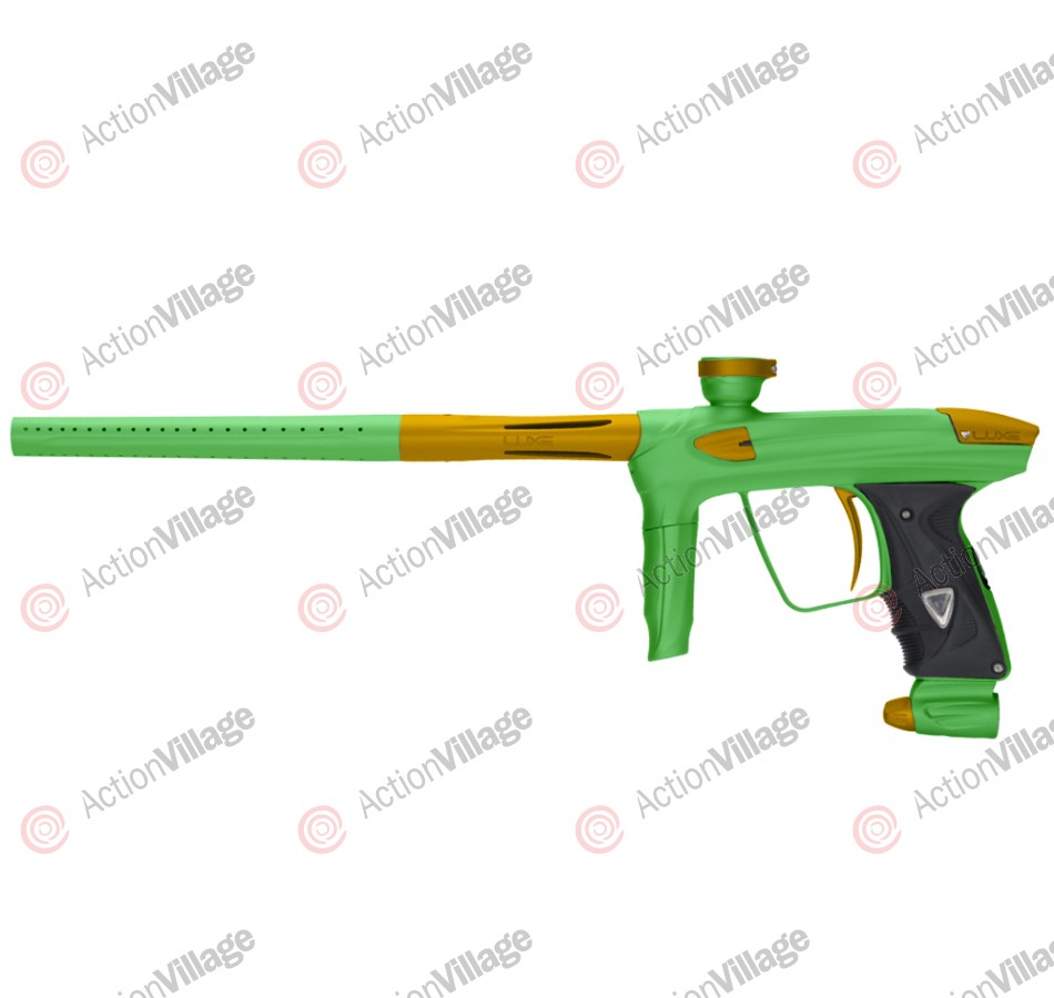 DLX Luxe 2.0 Paintball Gun - Dust Slime Green/Dust Gold