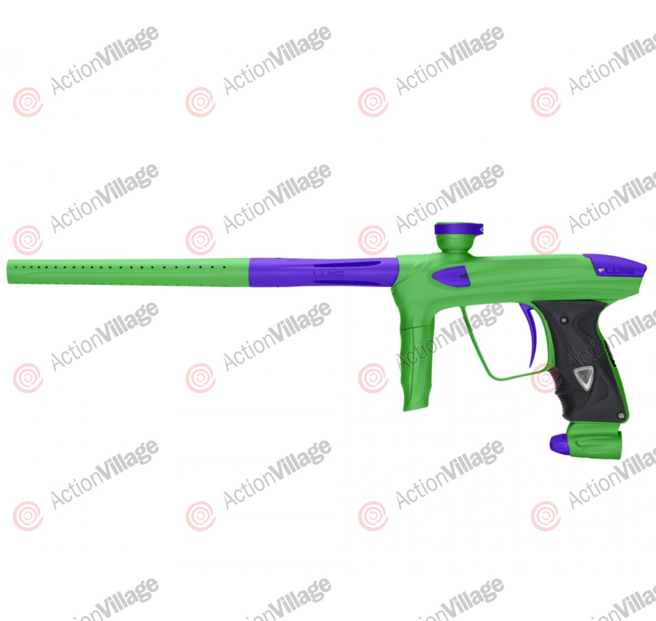 DLX Luxe 2.0 Paintball Gun - Dust Slime Green/Dust Purple