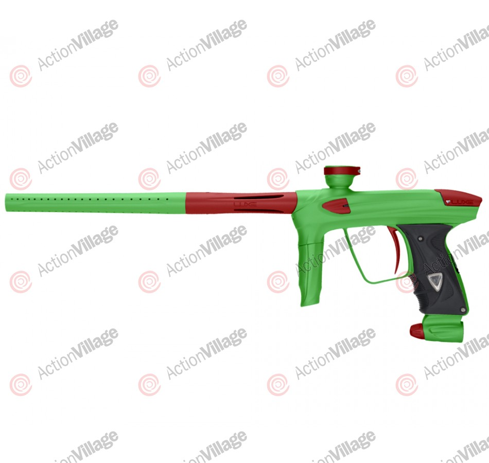 DLX Luxe 2.0 Paintball Gun - Dust Slime Green/Dust Red