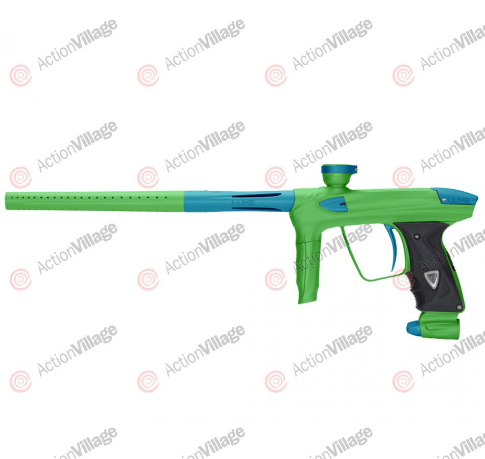 DLX Luxe 2.0 Paintball Gun - Dust Slime Green/Dust Teal