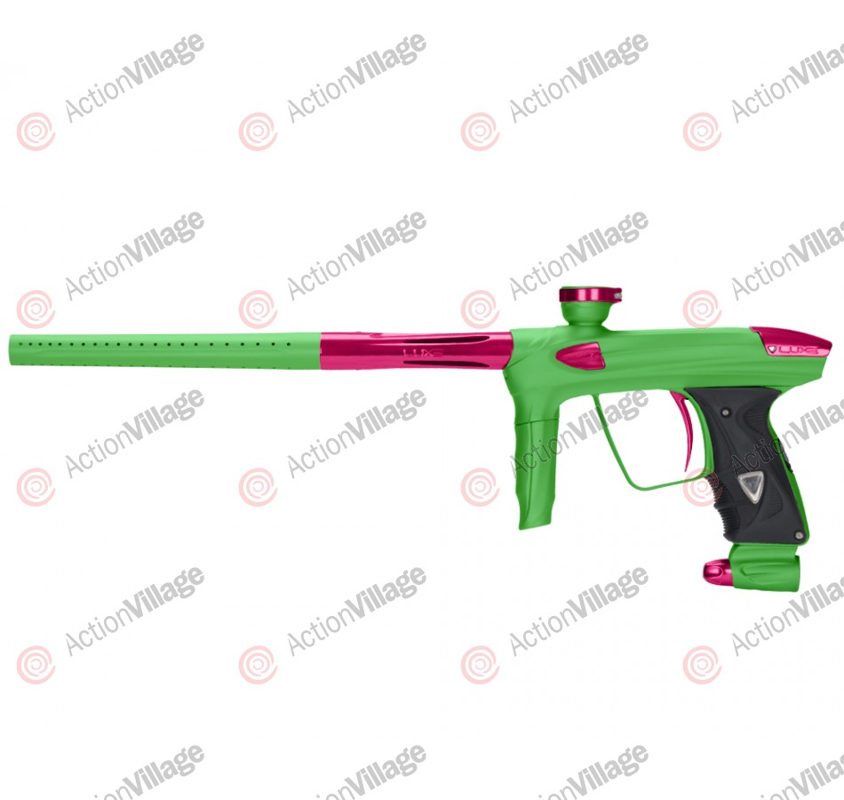 DLX Luxe 2.0 Paintball Gun - Dust Slime Green/Pink