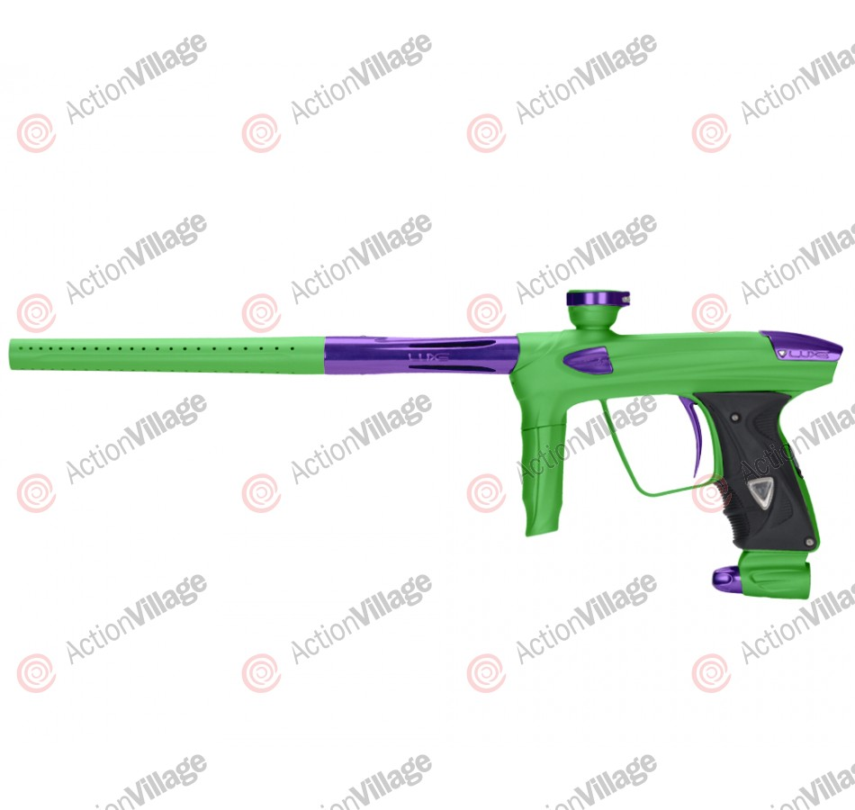 DLX Luxe 2.0 Paintball Gun - Dust Slime Green/Purple