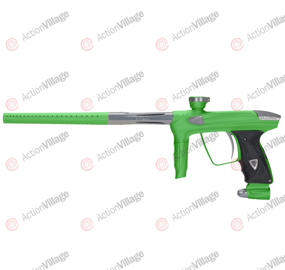 DLX Luxe 2.0 Paintball Gun - Dust Slime Green/Titanium
