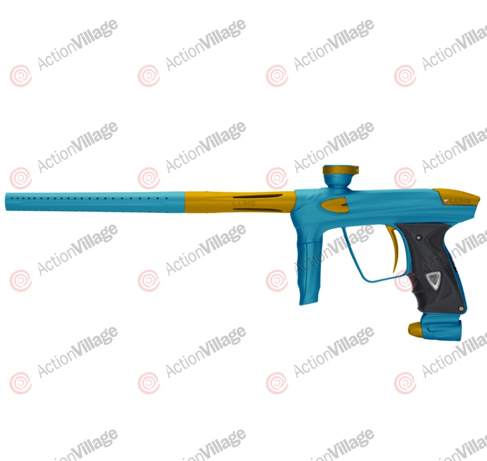 DLX Luxe 2.0 Paintball Gun - Dust Teal/Dust Gold