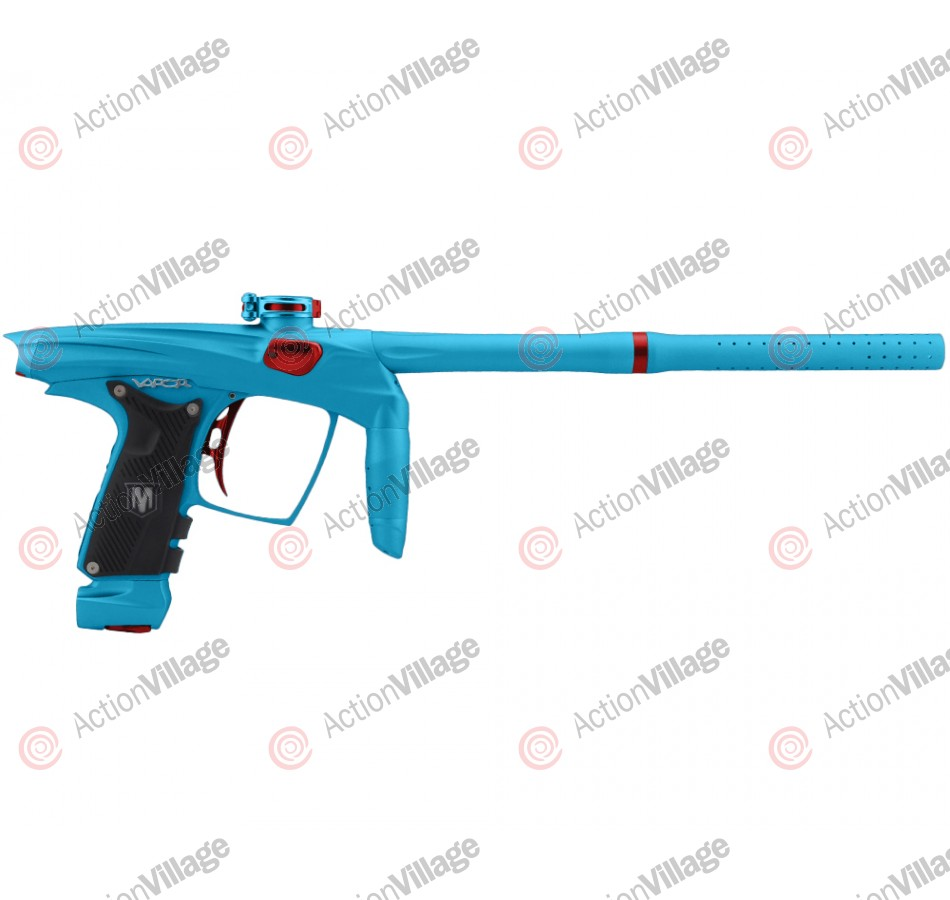 Machine Vapor Paintball Gun - Dust Teal w/ Red Accents