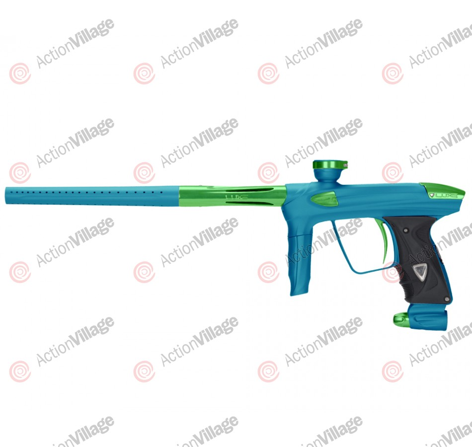 DLX Luxe 2.0 Paintball Gun - Dust Teal/Slime Green