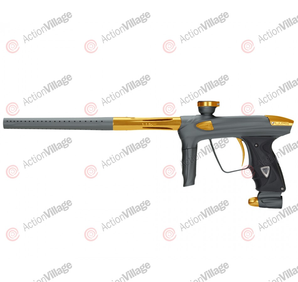DLX Luxe 2.0 Paintball Gun - Dust Titanium/Gold