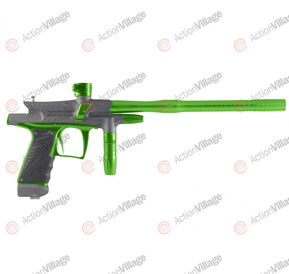 2012 Bob Long G6R F5 OLED Intimidator - Dust Titanium/Lime