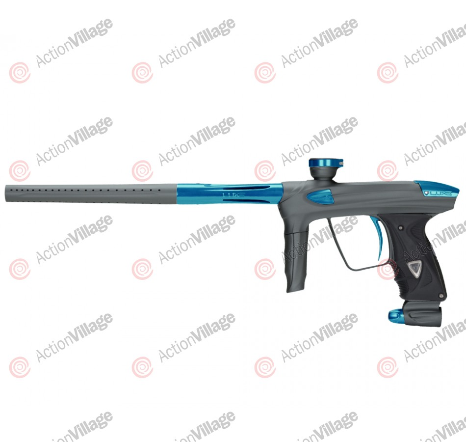 DLX Luxe 2.0 Paintball Gun - Dust Titanium/Teal