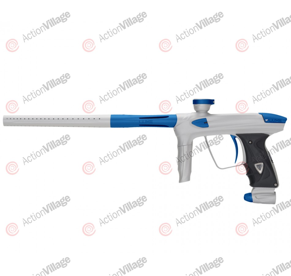 DLX Luxe 2.0 Paintball Gun - Dust White/Dust Blue