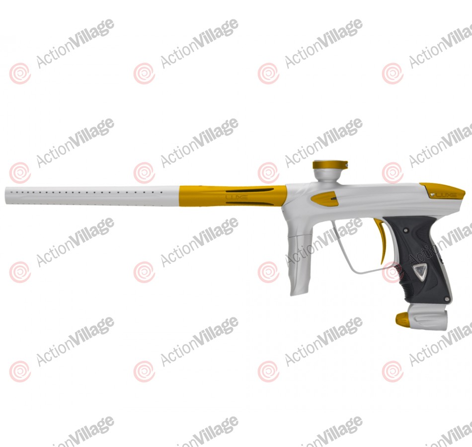 DLX Luxe 2.0 Paintball Gun - Dust White/Dust Gold