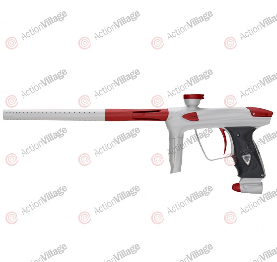 DLX Luxe 2.0 Paintball Gun - Dust White/Dust Red
