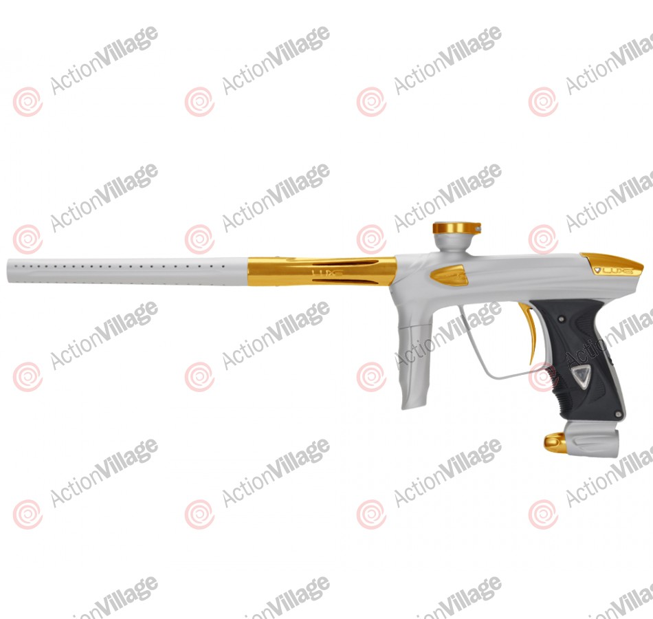 DLX Luxe 2.0 Paintball Gun - Dust White/Gold