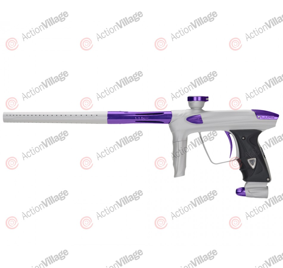 DLX Luxe 2.0 Paintball Gun - Dust White/Purple