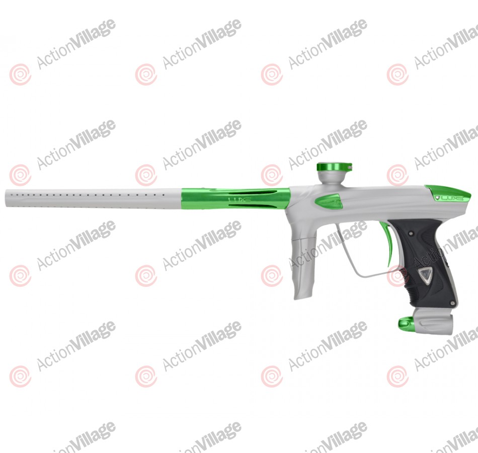DLX Luxe 2.0 Paintball Gun - Dust White/Dust Slime Green
