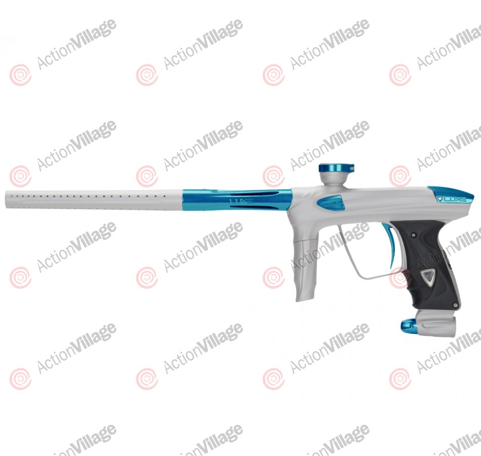 DLX Luxe 2.0 Paintball Gun - Dust White/Teal