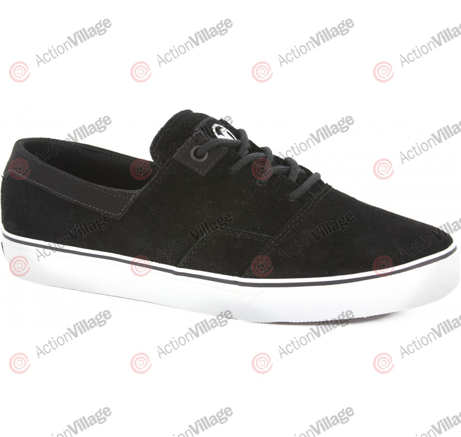 DVS Landmark - Black Suede - Skateboard Shoes