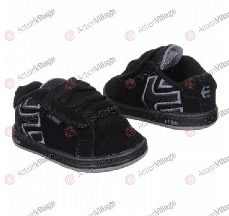 Etnies Toddler Fader - Kids' Shoes Black/Dark Grey