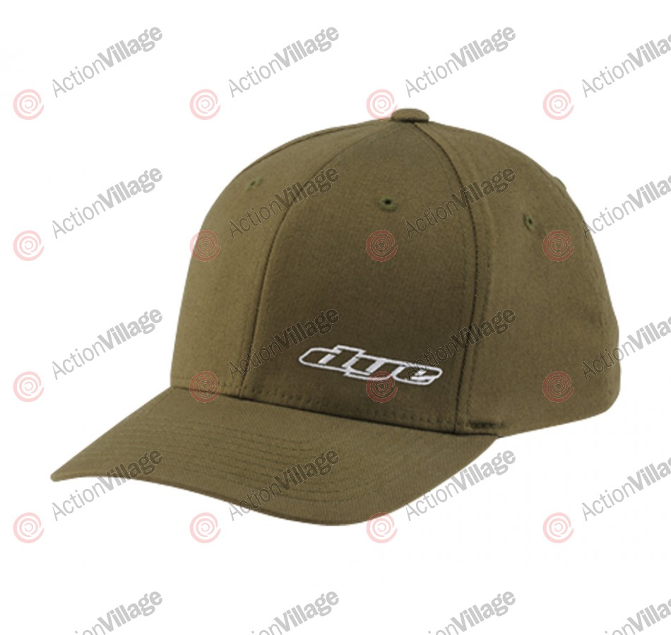 Dye 2013 Lowgo Men's Fitted Hat - Olive