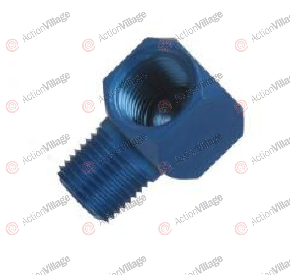 PSI 1/8 Inch NPT 90 Degree Elbow - Blue