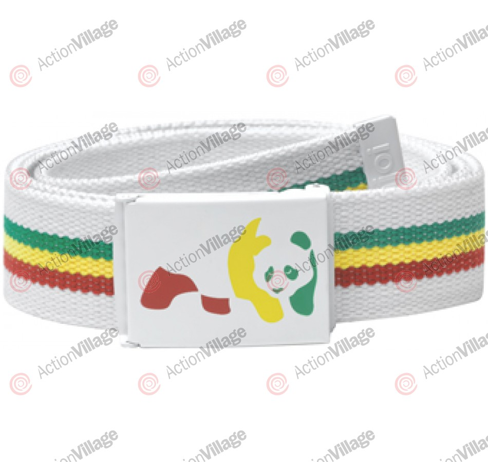 Enjoi Rasta Web Belt - White - Belt