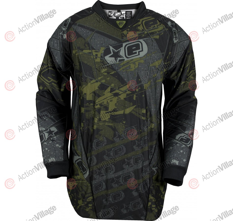 Planet Eclipse EVX Distortion Paintball Jersey - X-Over