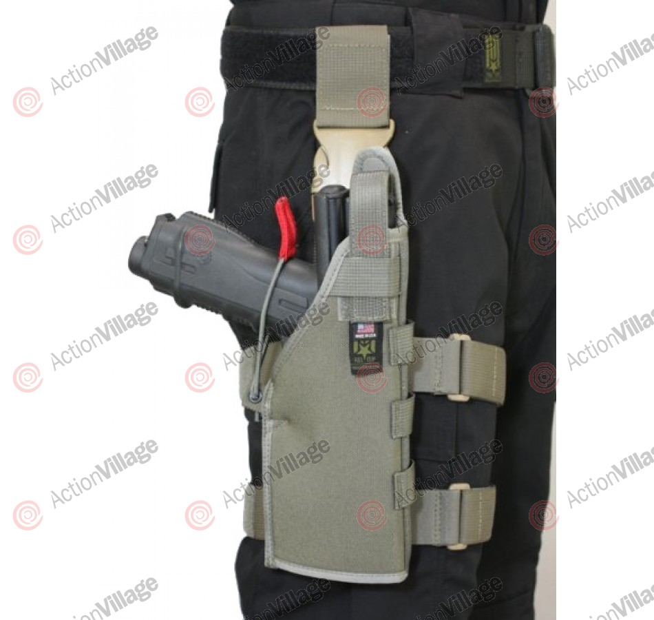 Full Clip Gen 2 Holster Molle/Belt - Right - Ranger