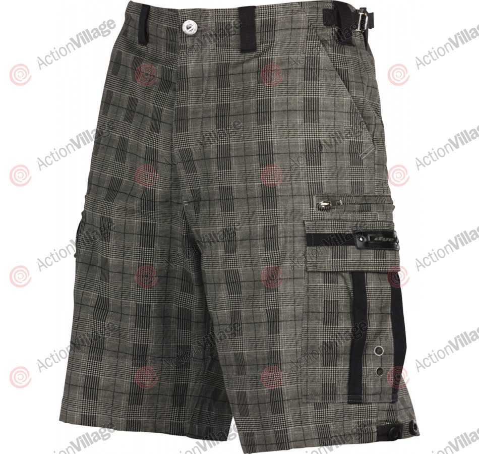Dye Fort Bragg Men's Shorts - Grey Plaid