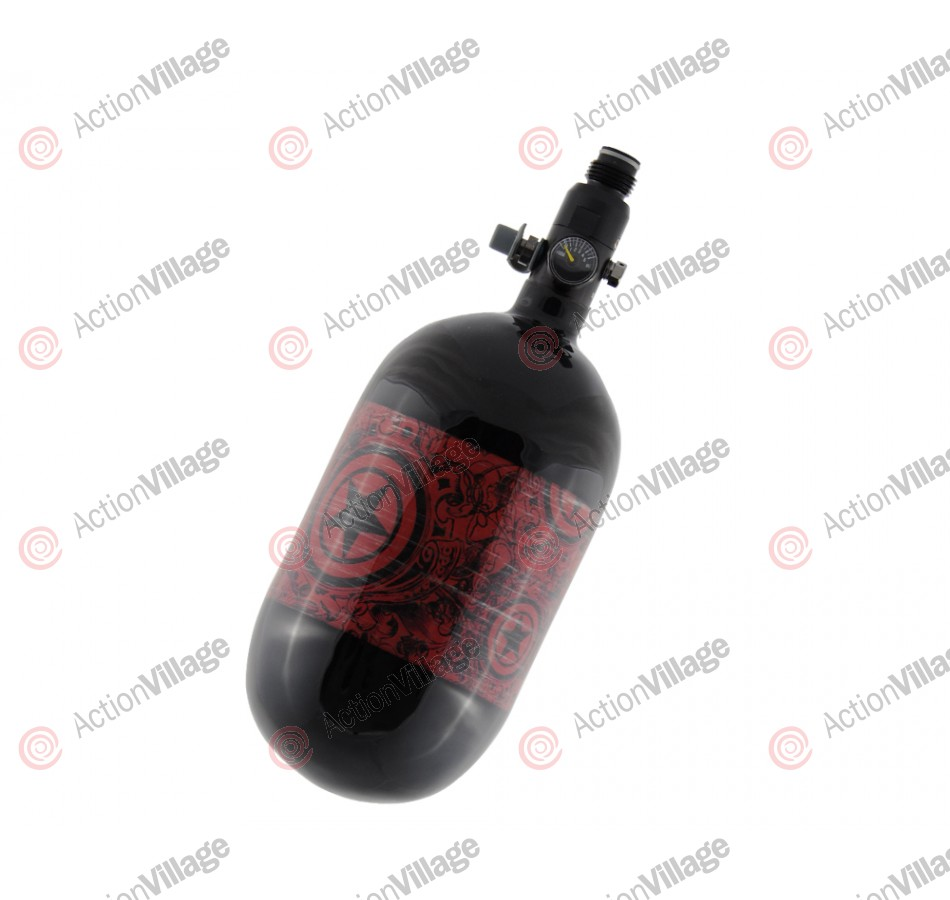 GI Sportz 68/4500 Compressed Air Paintball Tank - Herald Red