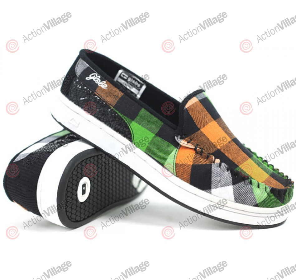 Globe Castro - Multi Plaid - Skateboard Shoes