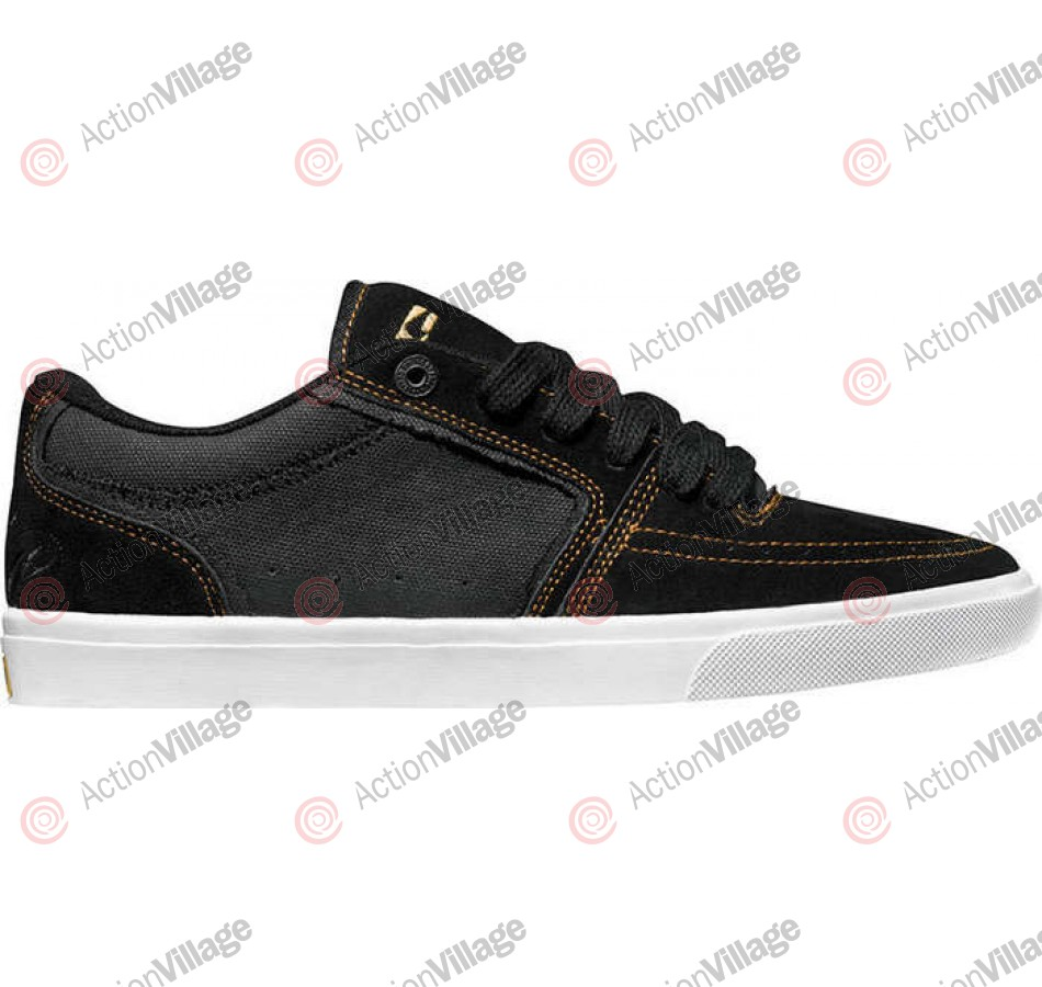Globe The Eaze - Black/Tobacco - Skateboard Shoes