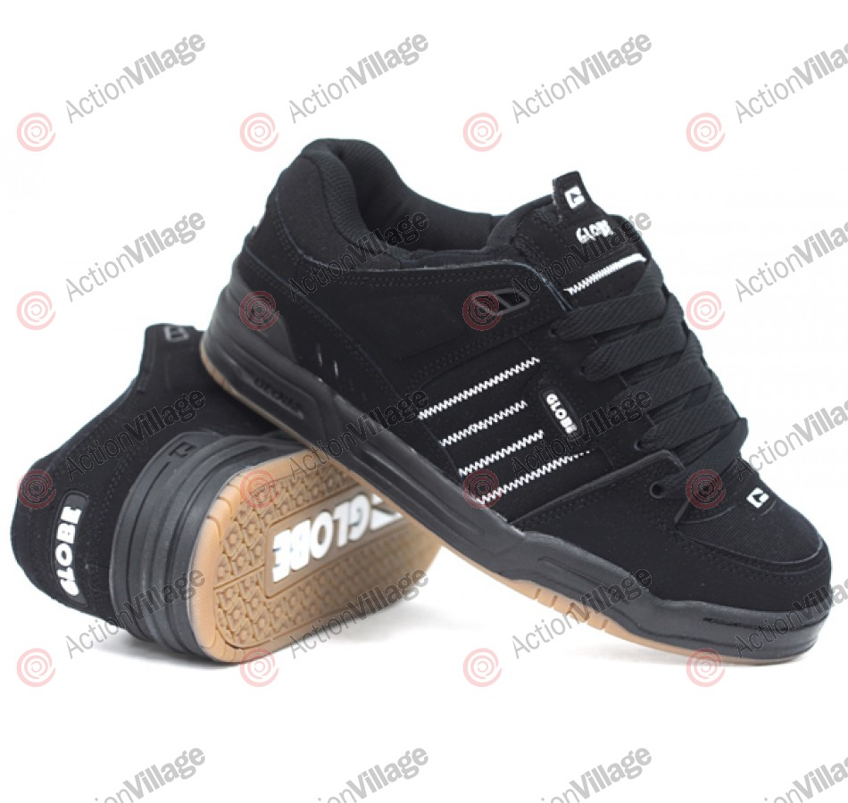 Globe Fusion - Black/Gum - Skateboard Shoes