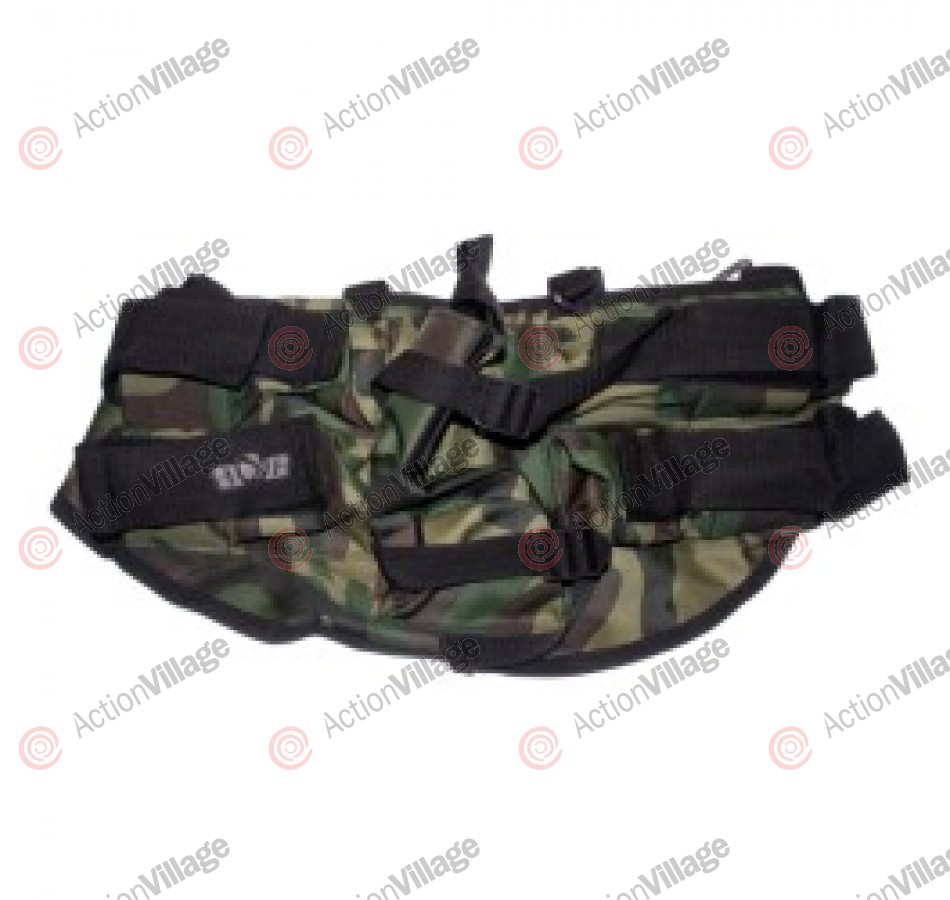 Gen X Global 4+1 Horizontal Paintball Harness - Camo